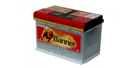 Akumuliatorius Banner 77 Ah Power PRO 12V 680A 278x175x190mm